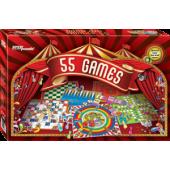 ИГРА НАБОР НАСТОЛЬНЫХ ИГР (55 GAMES)