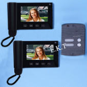 Видео домофон с двумя дисплеями RL-2A09G