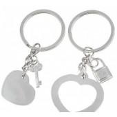 Брелок для влюбленных «Сердце к сердцу» (125026)