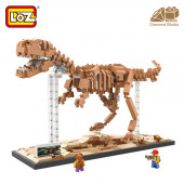 КОНСТРУКТОР LOZ Тиранозавр Рех (9023)