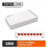 Свитч TotoLink Switch - 8 Port (S808)