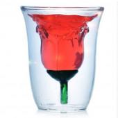 Кружка для напитков в форме розы