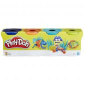 Hasbro Play-Doh PD Dinosaurs 4 баночки (B5517)