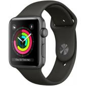 Электронные часы Apple S3 42mm Black Sport (MQL12)