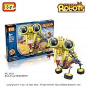 Электромеханический КОНСТРУКТОР LOZ Ox-Eyed Robots (3025)