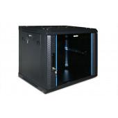 RACK Шкаф настенный Hyperline TWFS-1245-SR-RAL9004  12U  (TWFS-1245-SR-RAL9004)